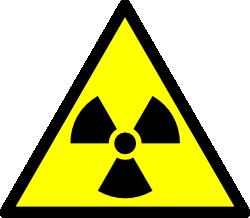 radio activity warning symbol