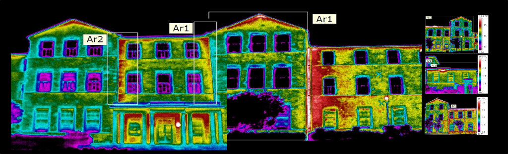 Muller House - Infrared Survey