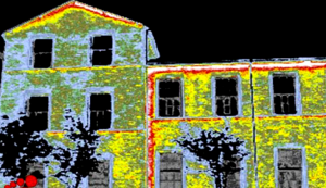 muller house thermal image loss of heat